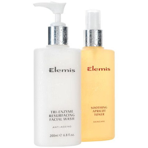 Elemis Cleanse And Tone Duo - Tri Enzyme (2 Products)