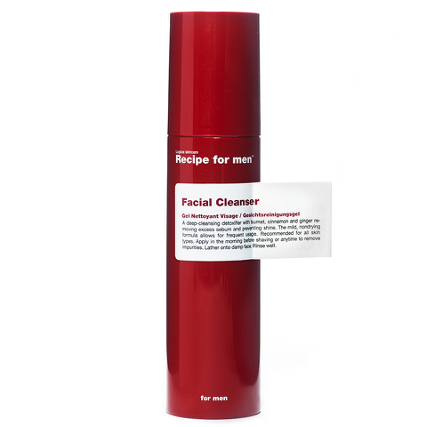 Recipe for men Facial Cleanser (100ml)