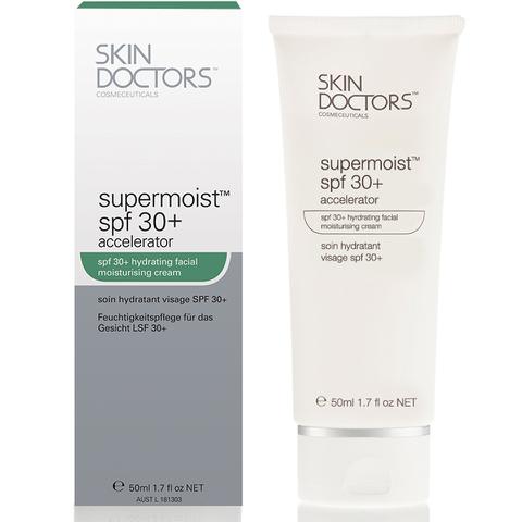 Crema antienvejecimiento Skin Doctors Supermoist Spf30+ Accelerator (50ml)