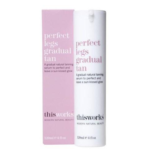 this works Perfect Legs Gradual Tan (Gradueller Selbstbräuner) 120ml