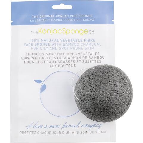 The Konjac Sponge Company Facial Puff Sponge with Bamboo Charcoal
