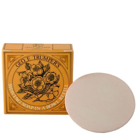Trumpers Almond Oil Hard Shaving Soap Refill - 80g