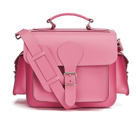 Grafea Leather Camera Bag  - Pink