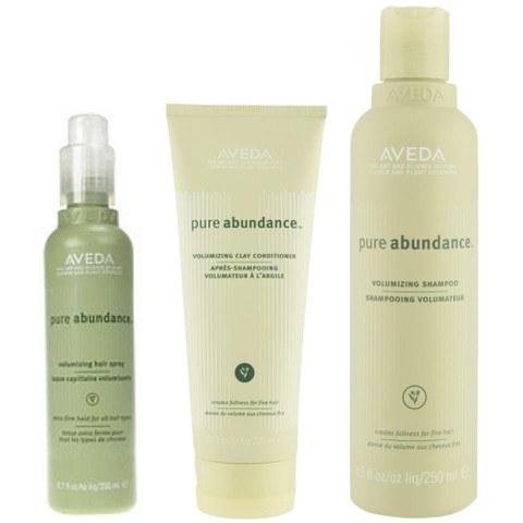 Aveda Pure Abundance Volumising Trio- Shampoo, Conditioner & Hair Spray