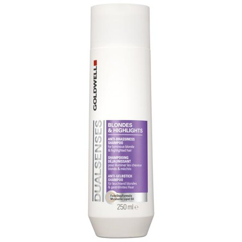 Goldwell Dualsenses Blondes & Highlights Anti-Brassiness Shampoo (250ml)