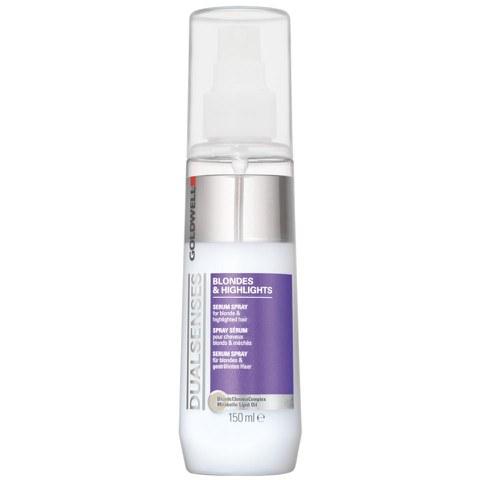 Goldwell DualsensesSérum en spray pour cheveux blonds et méchés(150 ml)