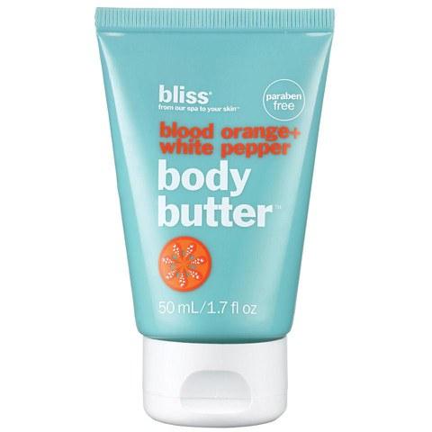 bliss beurre corporel orange sanguine + poivre blanc 50ml