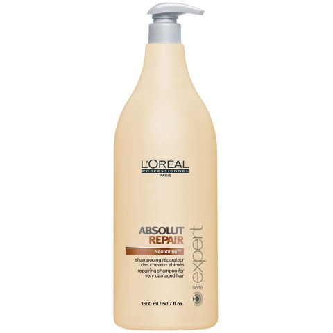 L'Oreal Serie Expert Absolut Repair Shampoo (1500ml) and Pump