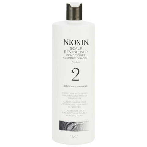 Conditionneur pour cheveux fins, visiblement clairsemés Nioxin System 2 Scalp Revitaliser (1000ml)