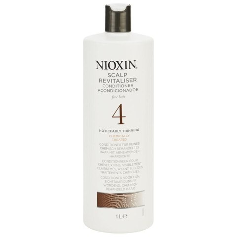 NIOXIN SYSTEM 4 SCALP REVITALISER CONDITIONER FOR FINE, NOTICEABLY THINNING, CHEMICALLY TREATED HAIR 1000ML