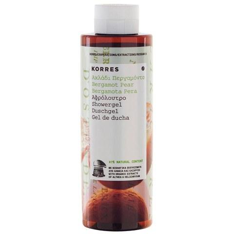 Korres Bergamot Pear Shower Gel (250ml)