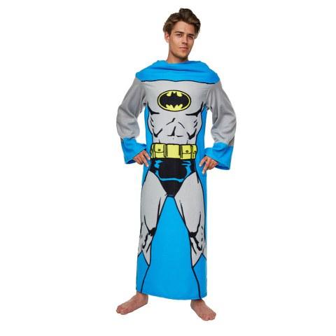 DC Comic Men's Batman Adult Loungers - Blue