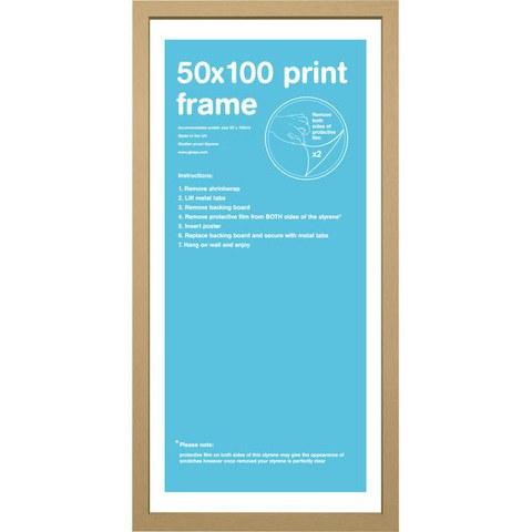 Oak Frame 50 x 100cm