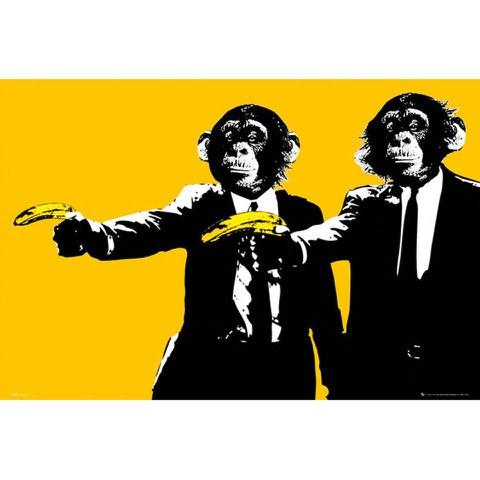 Monkeys Bananas - Maxi Poster - 61 x 91.5cm