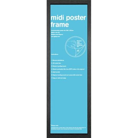Black Frame Midi - 30.5 x 91.5cm