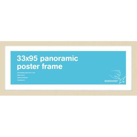 Beech Frame Panoramic - 33 x 95cm