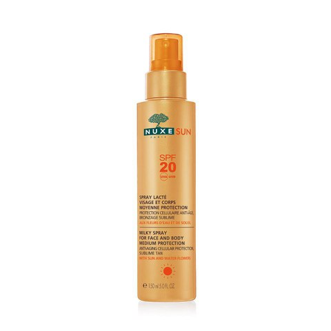 Spray corporal y facial SPF 20 NUXE Sun (150ml) - Exclusivo