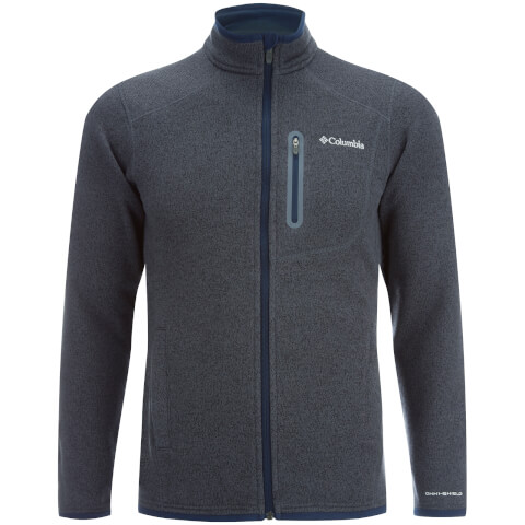 Columbia Men's Altitude Aspect Full Zip Fleece - Grey