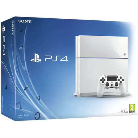 Sony PlayStation 4 500GB Console in White