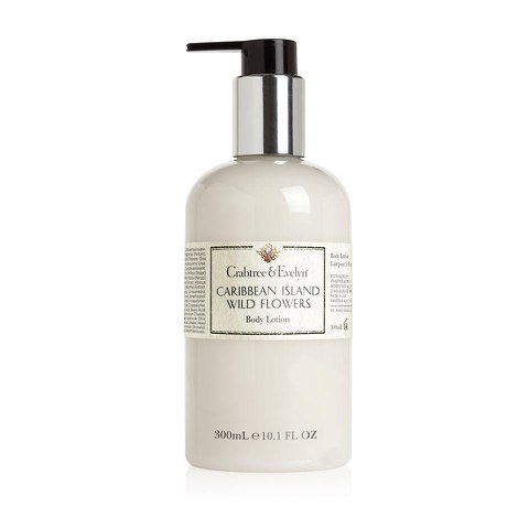 Crabtree & Evelyn Caribbean Island Wild Flowers Body Lotion (300ml)