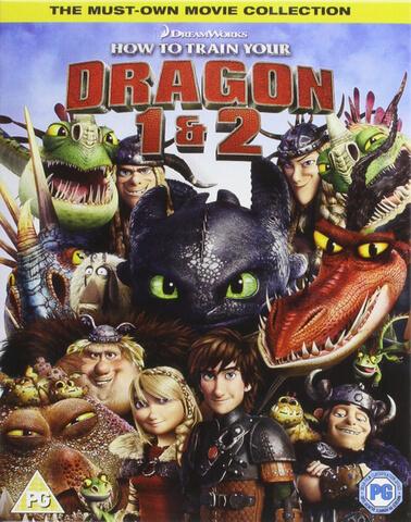 Cómo Entrenar a tu Dragón / Cómo Entrenar a tu Dragón 2 (Copia UltraViolet incl.)