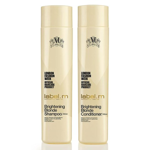 label.m Brightening Blonde Shampoo and Conditioner (300ml) Duo (Worth £28.90)