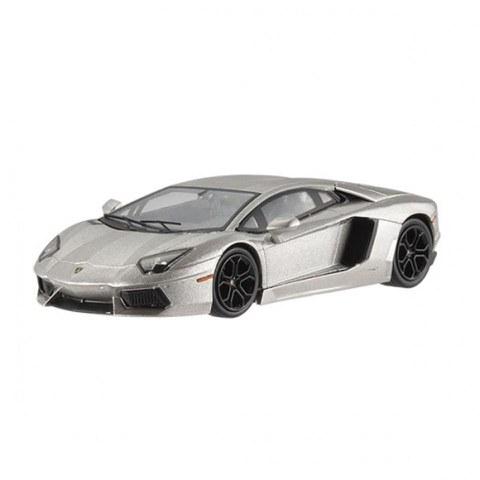 Batman Diecast Modell 1/43 Lamborghini Aventador LP700-4 Hotwheels Elite Edition