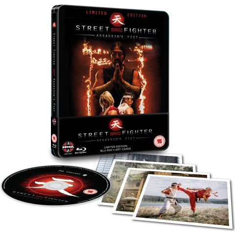 Street Fighter: Assassin's Fist  - Limited Edition Steelbook