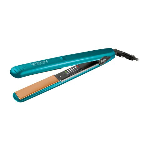 Diva Professional Styling Feel the Heat Intelligent Digital Styler Chromatix Straightener - Sky Blue