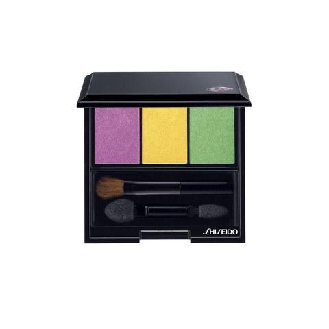 Trío de sombras de ojos Shiseido Luminizing Satin Eye Colour Trio YE406 (3g) Tropicalia