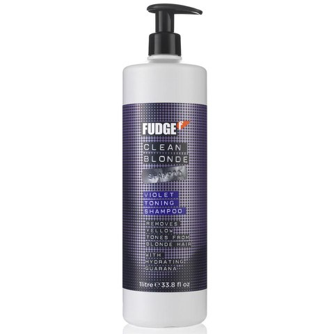 Fudge Clean Blonde Violet Shampoo (1000ml)