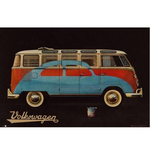 VW Camper Paint Advert - Maxi Poster - 61 x 91.5cm