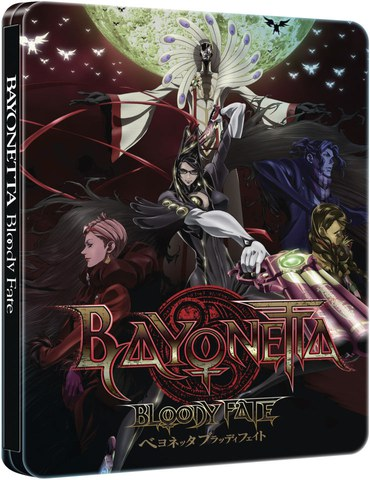 Bayonetta: Bloody Fate - Collector's Edition Steelbook