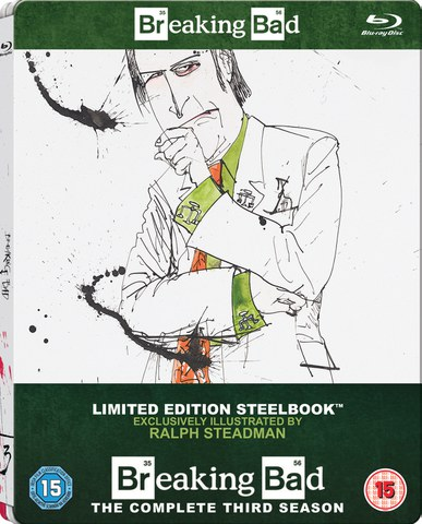 Breaking Bad: Season 3 - Zavvi Exclusive Limited Edition Steelbook (Includes UltraViolet Copy)