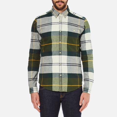 Barbour Men's Johnny Original Tartan Long Sleeve Shirt - Ancient