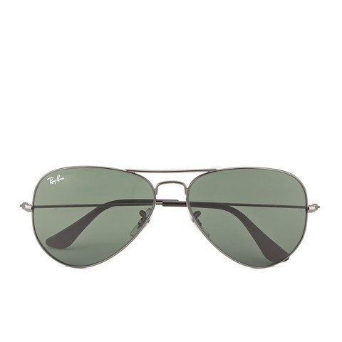 Ray-Ban Aviator Large Metal Sunglasses - Gunmetal - 58mm