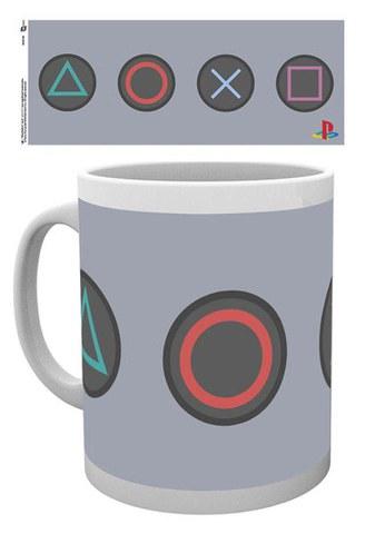 PlayStation Buttons - Mug