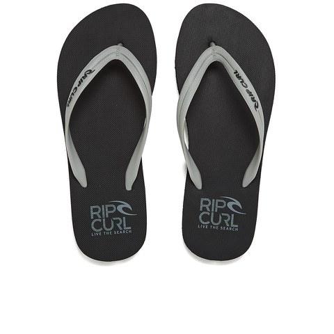 Rip Curl Men's MC EVA Flip Flops - Black/Grey
