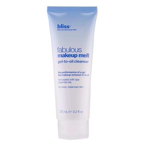 bliss Fabulous Make-Up Melt Gel-to-Oil Cleanser (125ml)