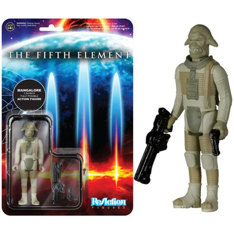 ReAction Fifth Element Mangalore 3 3/4 Inch Action Figure