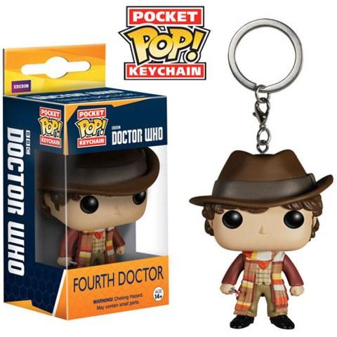Doctor Who 4th Doctor Pocket Pop! Vinyl Figure Key Chain