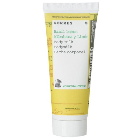 Korres Basil Lemon Body Milk (40ml)