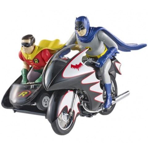 Batman Hot Wheels Diecast Modell 1/12 Classic TV Series Batcycle