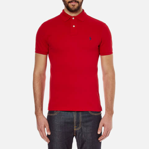 Polo Ralph Lauren Men's Slim Fit Short Sleeved Polo Shirt - Rl2000 Red