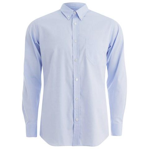 Private White VC Men's Button-Down Oxford Shirt - Blue