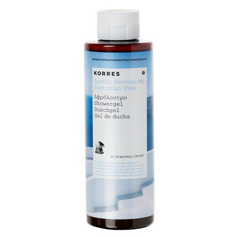 Korres Santorini Vine Shower Gel (250ml)