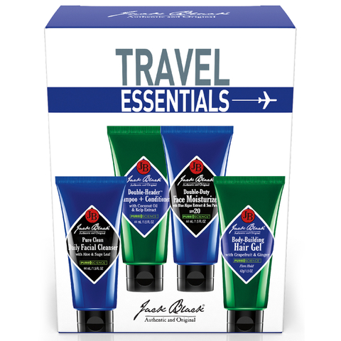 Set de viaje Jack Black Travel Essentials