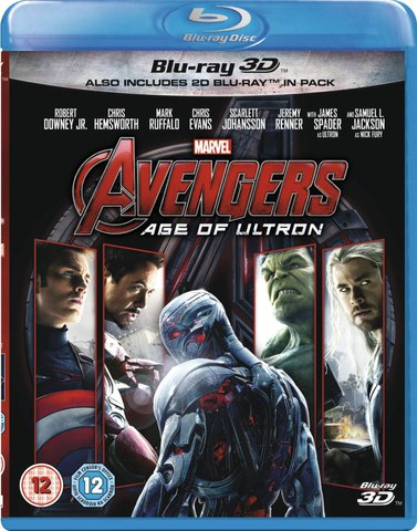Avengers: Age of Ultron 3D (Includes 2D Version)