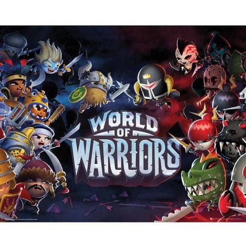 World of Warriors - Mini Poster - 40 x 50cm