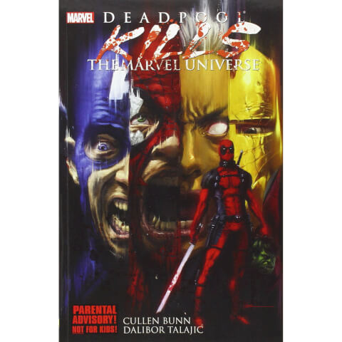 Marvel Deadpool Kills The Marvel Universe Graphic Novel